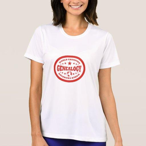 Genealogy World Champion Shirts