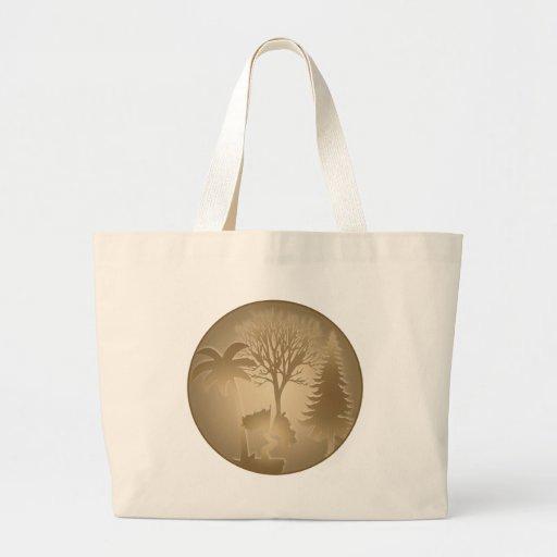 Genealogy World Trees Bag