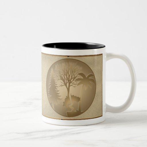 Genealogy World Trees Mug