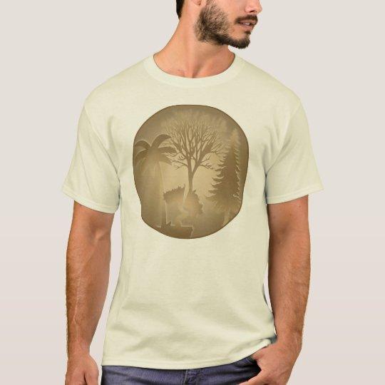 Genealogy World Trees T-Shirt