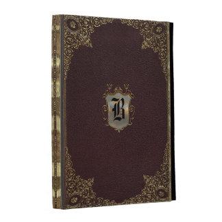 Genengraph Old Style Book iPad Folio Cases