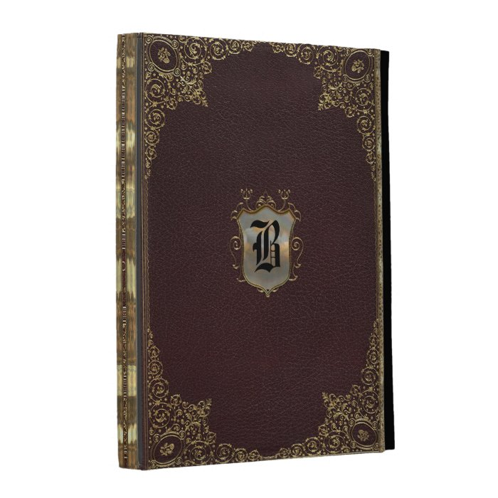 Old Book Style Ipad Cover : Genengraph old style book ipad folio cases zazzle