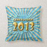 Generación 2013 almohadas