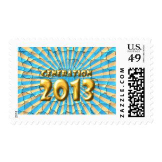 Generación 2013 sellos