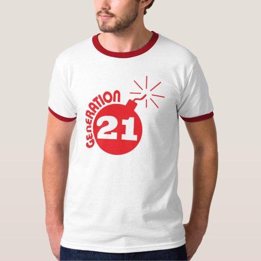 Generación 21 camisas