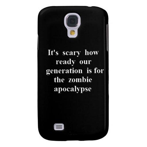 Generación asustadiza lista para el zombi Apocalys
