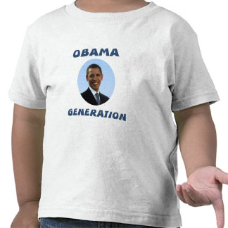 Generación de Obama - niño Camiseta