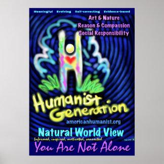Generación del humanista posters