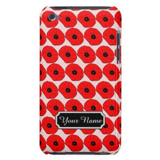 Generación iPod personalizada Tou de las flores de iPod Case-Mate Protector