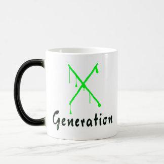 Generación X Taza Mágica