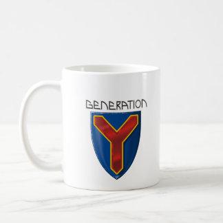 Generación Y Taza De Café