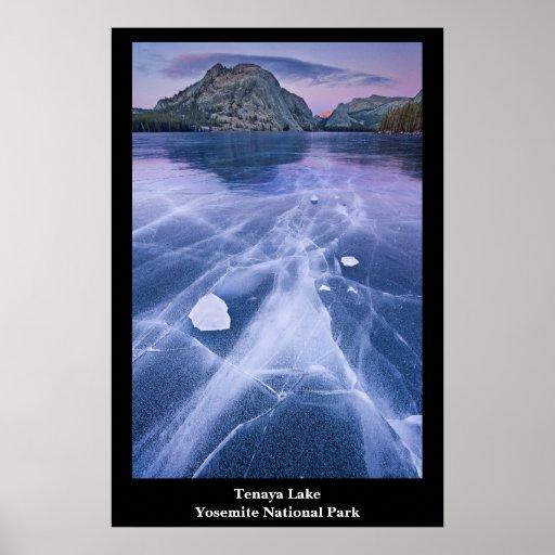 Generacional, lago Tenaya, Yosemite Póster