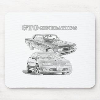 Generaciones de GTO Alfombrilla De Ratones