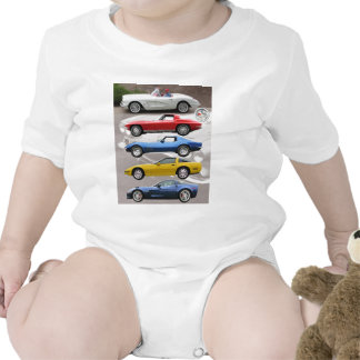 Generaciones del Corvette Traje De Bebé