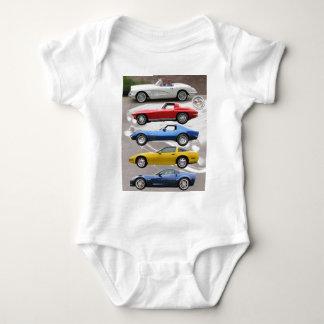 Generaciones del Corvette Remera