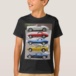 Generaciones del Corvette Remeras