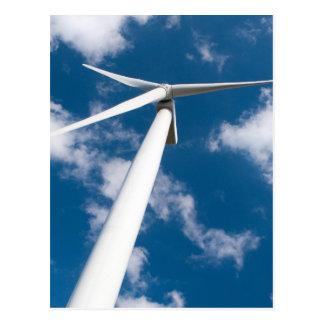 Generador de poder del molino de viento postal