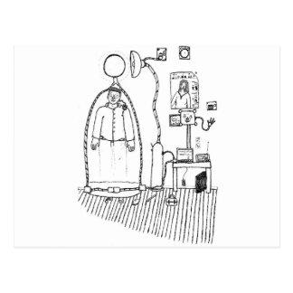 Generador porta tarjeta postal