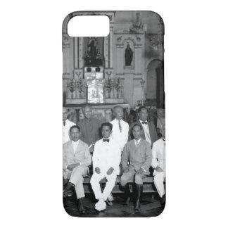 General Aguinaldo (seated, center)_War Image iPhone 8/7 Case