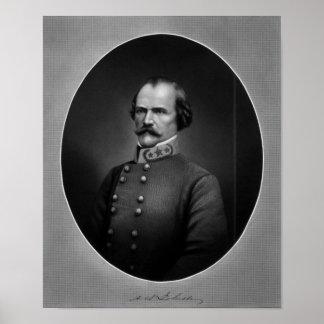 General Albert Sidney Johnston Póster
