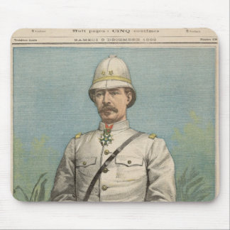 General Alfred Amedee Dodds  in Dahomey Mouse Pad