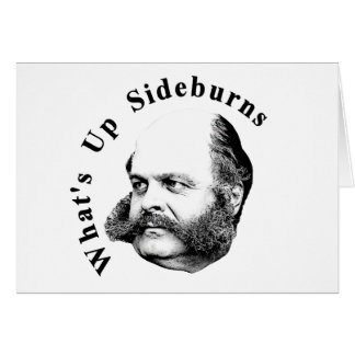 General Ambrose Burnside Card