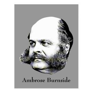 General Ambrose Burnside de la guerra civil Postales
