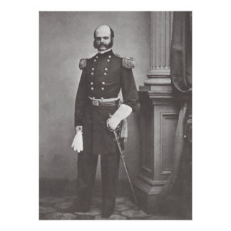 General Ambrose Burnside Poster