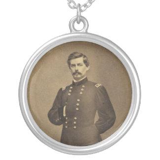 General americano George B McClellan de la guerra Collar Plateado