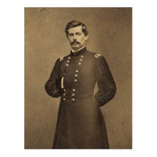 General americano George B McClellan de la guerra Postales