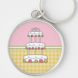 General and Gay Themed Wedding Cards and Postcards Silver-Colored Round Keychain