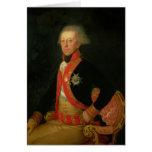 General Antonio Ricardos  c.1793-94 Card