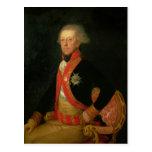 General Antonio Ricardos  c.1793-94 Postcard