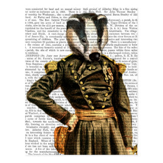 General Badger Postcard