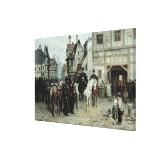 General Blucher Canvas Print