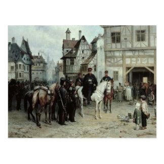 General Blucher Postcard