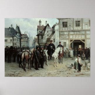 General Blucher Poster