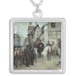 General Blucher Silver Plated Necklace