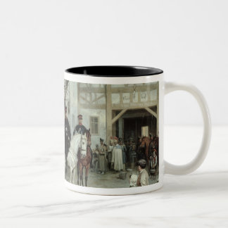 General Blucher Two-Tone Coffee Mug