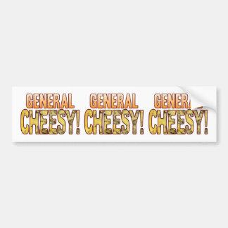 General Blue Cheesy Bumper Sticker