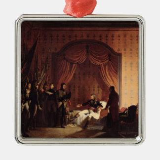 General Bonaparte  Captured Austro-Sardinian Metal Ornament