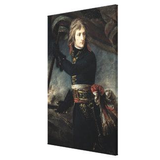 General Bonaparte en el puente en Arcole Lienzo Envuelto Para Galerias