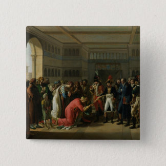 General Bonaparte Giving a Sword to the Pinback Button
