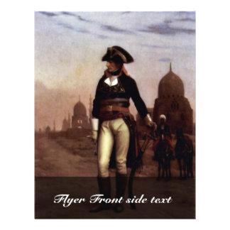 """General Bonaparte In Cairo By Gérôme Jean-Léon (Be 8.5"""" X 11"""" Flyer"""