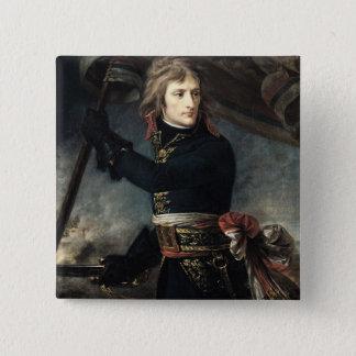 General Bonaparte  on the Bridge at Arcole Button