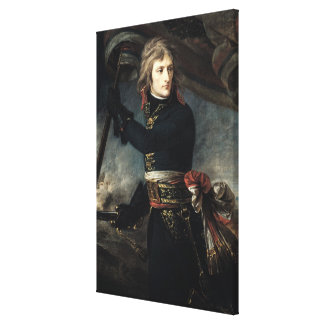 General Bonaparte  on the Bridge at Arcole Canvas Print