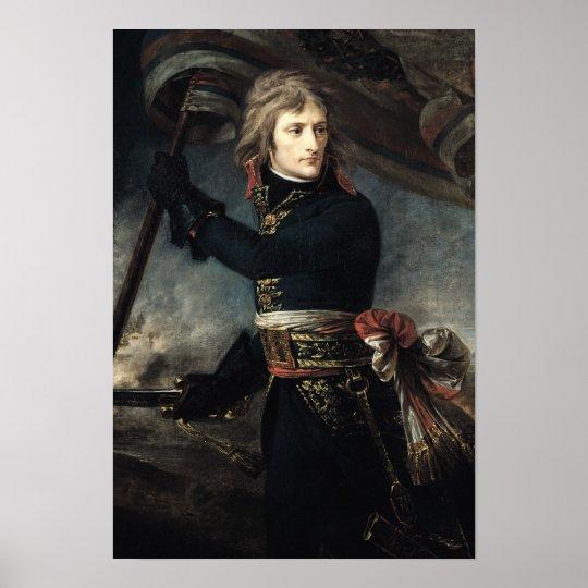 General Bonaparte  on the Bridge at Arcole Poster