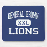 General Brown - Lions - High - Dexter New York Mouse Mat