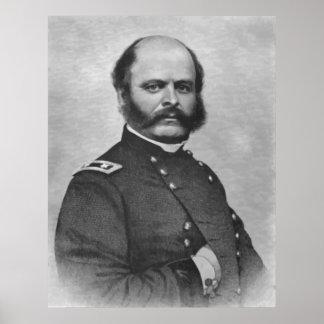 General Burnside Painting Poster