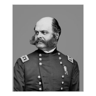 General Burnside Poster